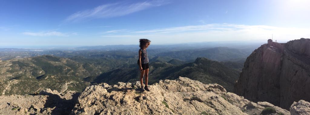 Subir al pico del penyagolosa